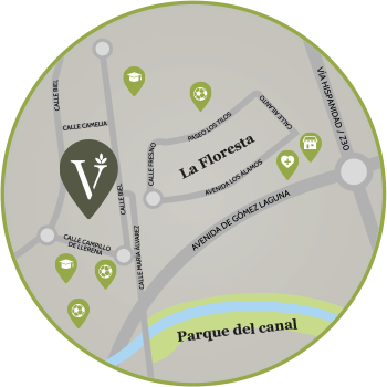 Mapa Residencial Via Verde